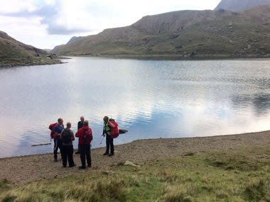 RAW Adventures - Engaging with walkers is key to the Real3Peaks challenge