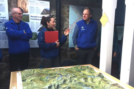RAW Adventures - Warden briefing at Pen-y-Pass