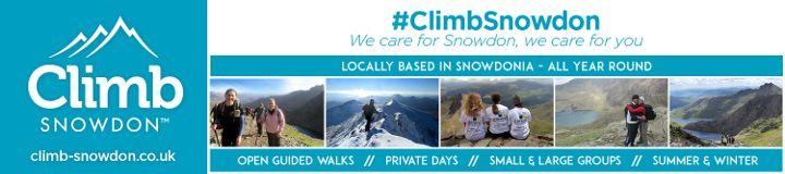 RAW Adventures - Climb Snowdon banner