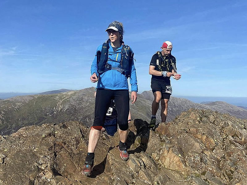 RAW Adventures - Start of Day 1 Crib Goch traverse with the awesome Geoff C
