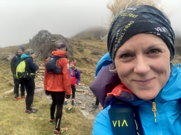 RAW Adventures - Kate on a Dragon's Back Race recce