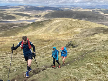 RAW Adventures - Group on a Dragon's Back Race recce