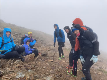 RAW Adventures - Runners at Cairn